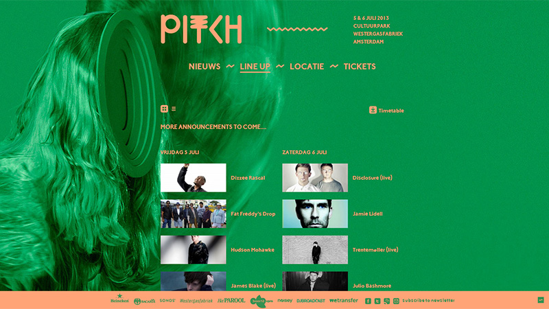 PITCH Festival Amsterdam