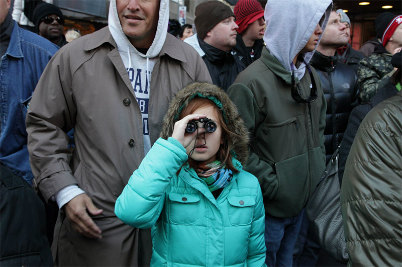 Binocular Girl, New York