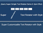 Super Simple Text Rotator with Almost No Effort Required