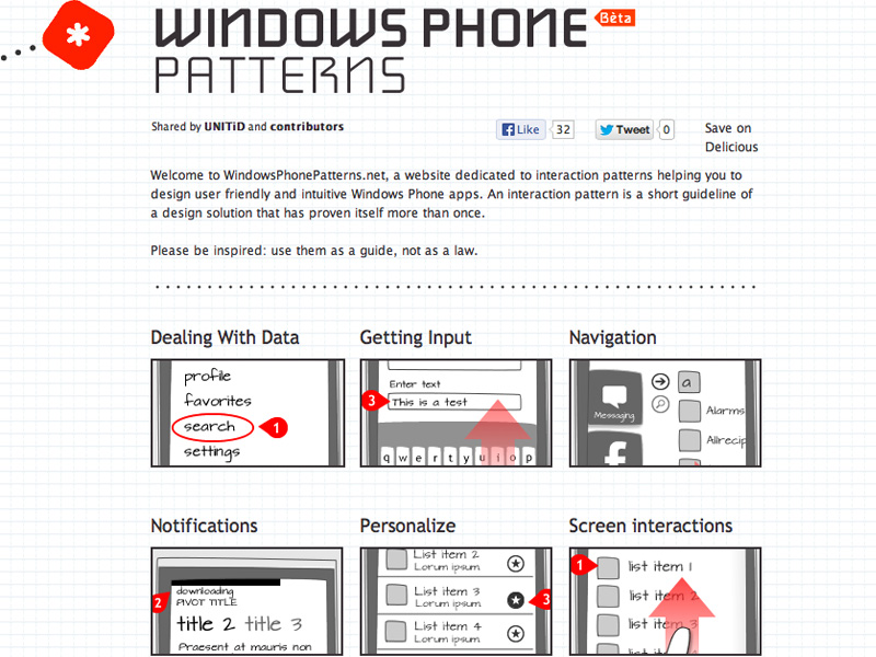 Windows Phone Patterns
