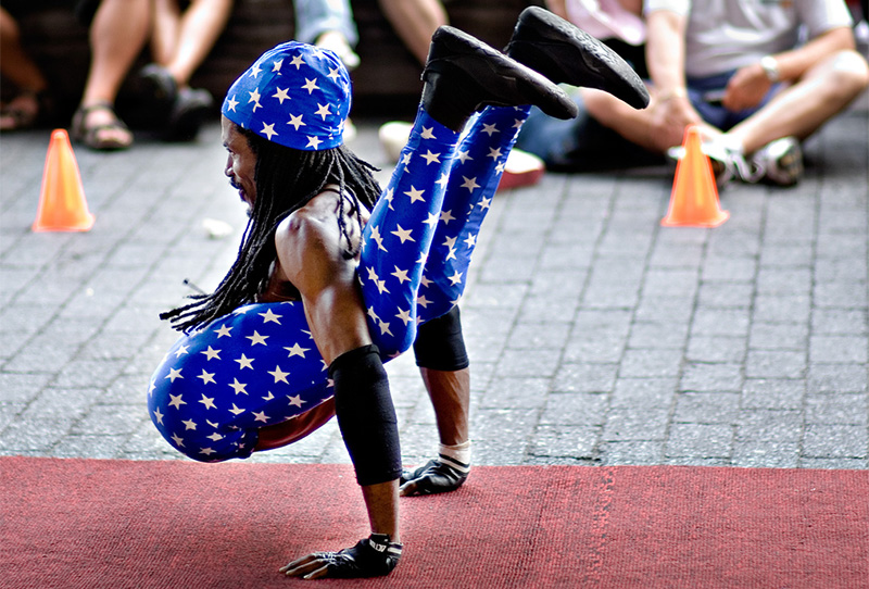 When 4th of July acrobatics go wrong, NYC