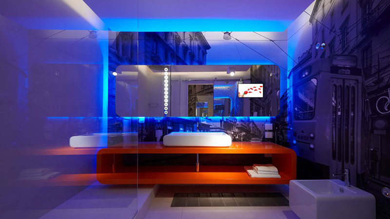 30 creative led interior lighting designs. Black Bedroom Furniture Sets. Home Design Ideas