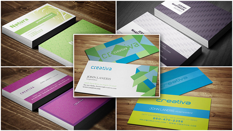 5 Business Card Templates by Cruzine