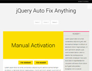 Fix Any Div Container into View Port with AutoFix_Anything.js