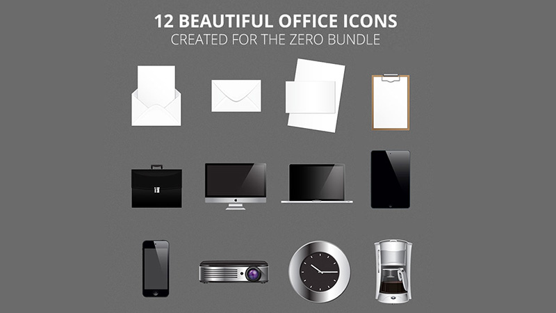 Office Icons by Aniken Creative