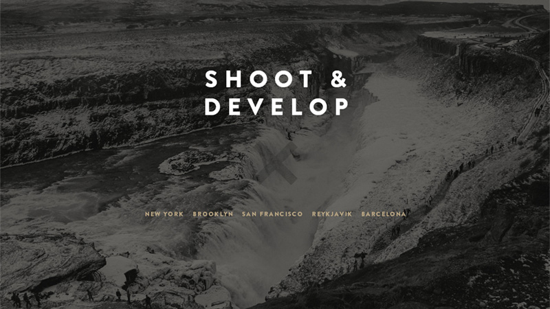 Shoot and Develop