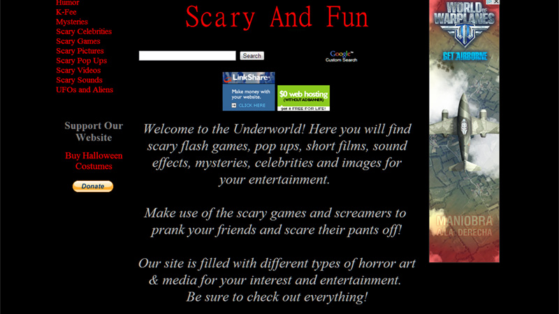 Scary And Fun