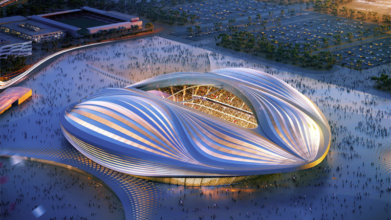 Revolutionary 2022 FIFA World Cup Stadium Design Unveiled