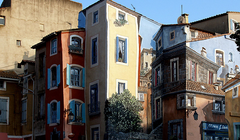 Painted Houses, France