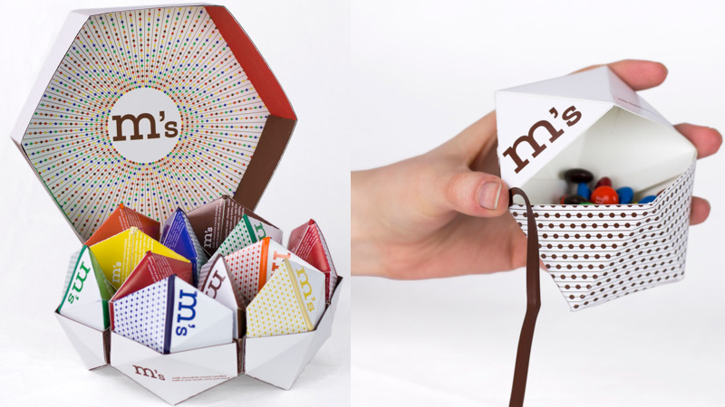 New Concept Design gives M&M's a Fresh Brand Facelift