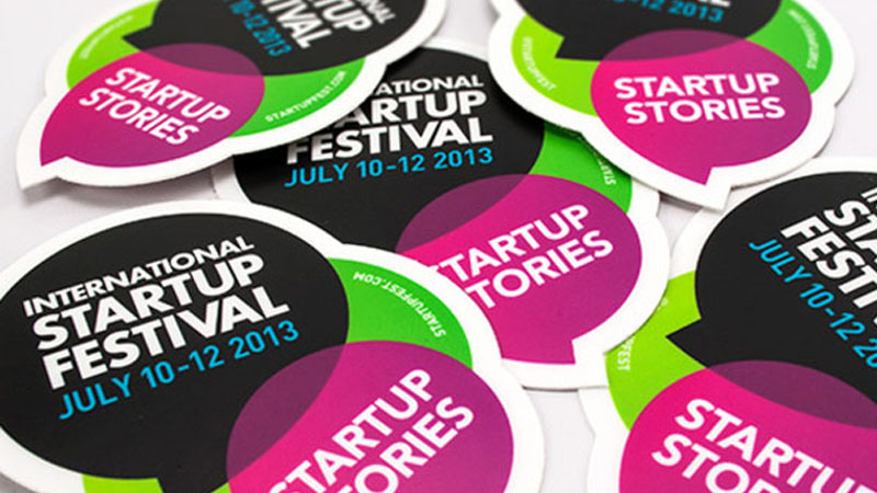 International startup festival promotional car sticker 12046694 10153228476330028 3904629008618335284 n · door decal