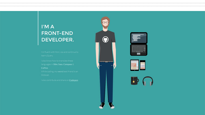 Interactive Portfolio And Resume Websites To Inspire You