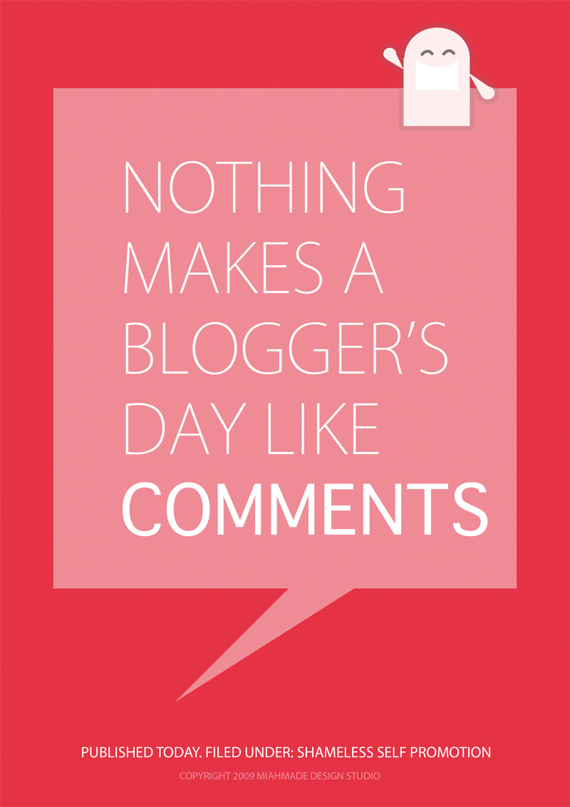 Blogger's creed