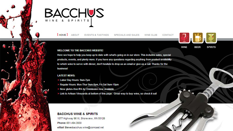 Bacchus Wines & Spirits