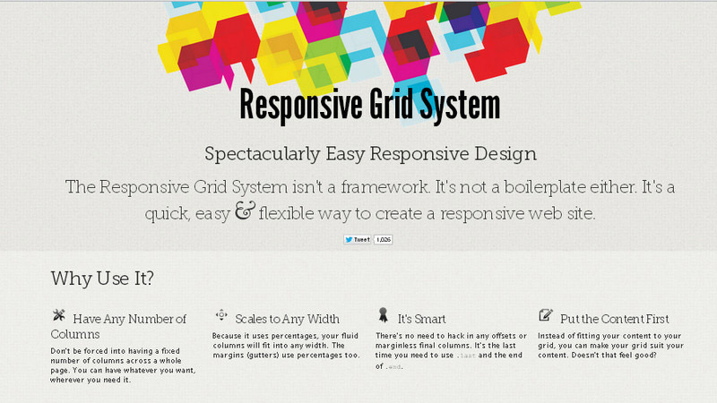 40 Flexible Grid Tools For Responsive Websites