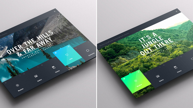Weather Dashboard // Global Outlook UI/UX by Jonathan Quintin