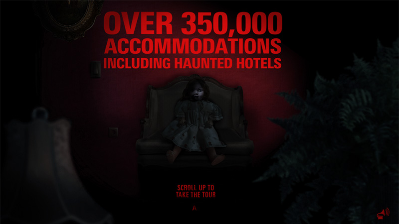 Booking.com - Haunted