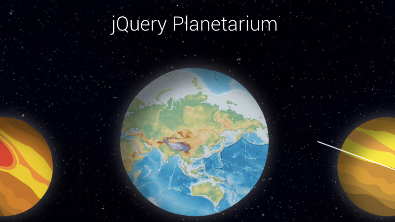 Construct Interactive Planets and Build the Universe on your website