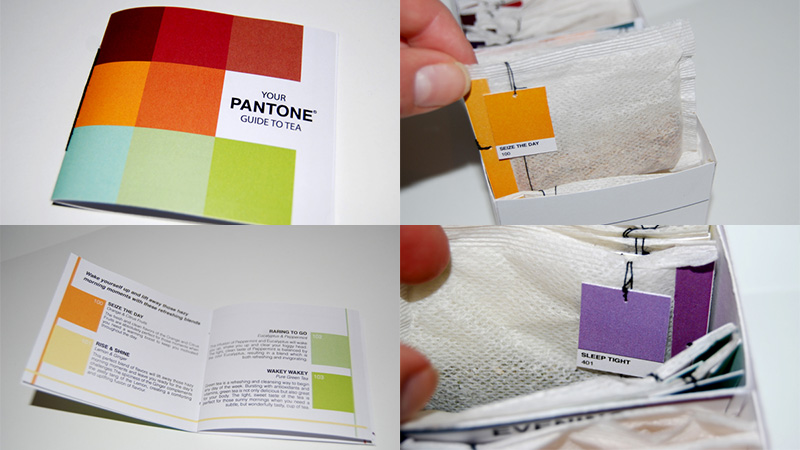 Your Pantone Guide to Tea