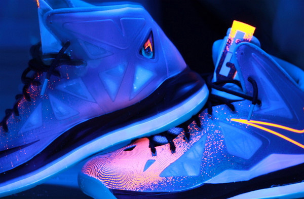 Black Light Sneaker Shoot
