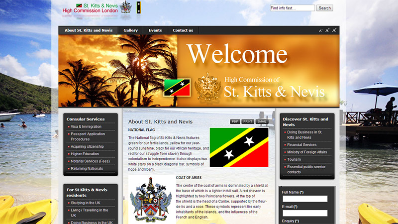 St. Kitts & Nevis High Commission London