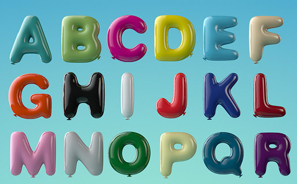 Balloon Typeface by BMT London