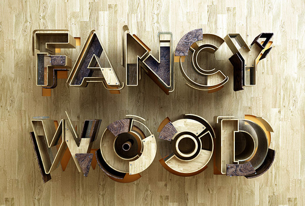 Fancy Wood by Benoit Challand