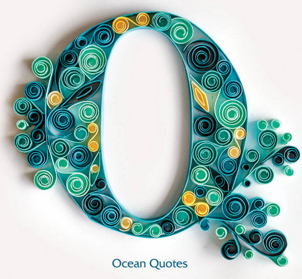 Ocean Quote Book by Tara Boland