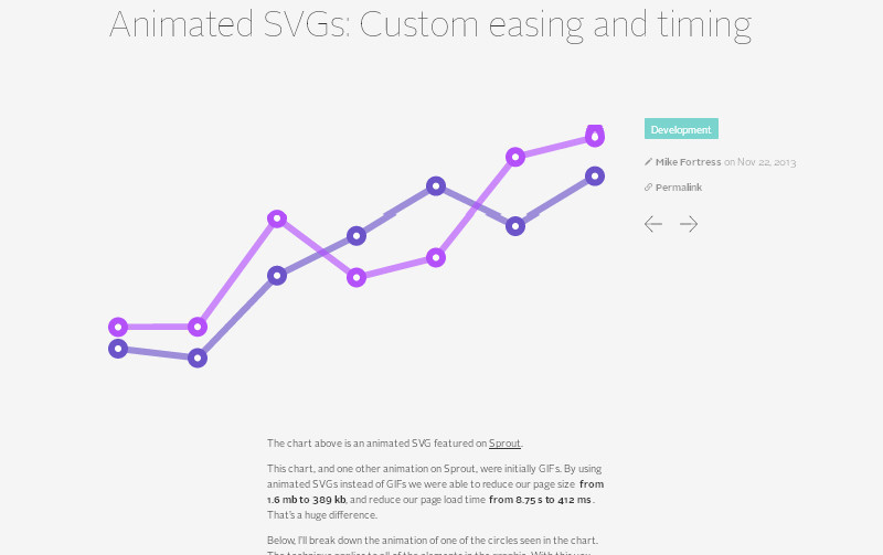 Animated SVGs: Custom Easing and Timing