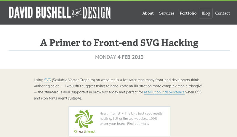 Front-End SVG Hacking