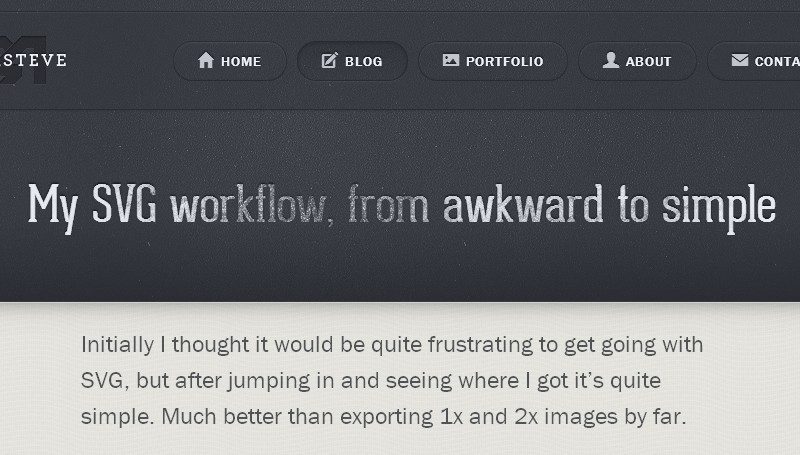 My SVG Workflow, from Awkward to Simple