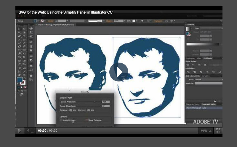 Exporting SVG for the web with Adobe Illustrator CC