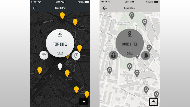 City Guides National Geographic Wireframe