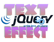 Useful and Time-Saving Text Effect jQuery Plugins