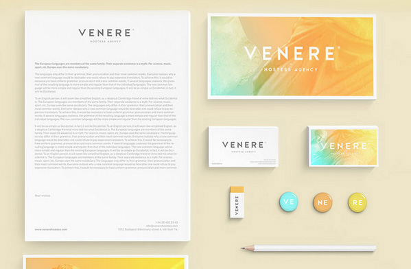 Venere Hostess Agency Branding
