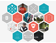 Unusual and Creative Angles and Shapes in Website Design