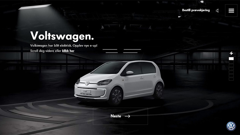 automobile website superior designs that are gradually winning over