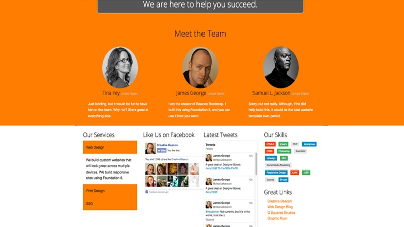 Colossus Responsive HTML5 Template