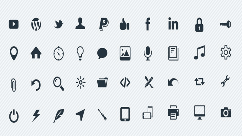 High-Resolution Vector Icons