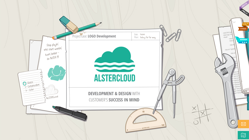 AlsterCloud Design Website
