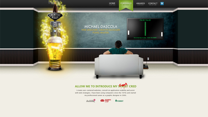 Mike Dascola Personal Website