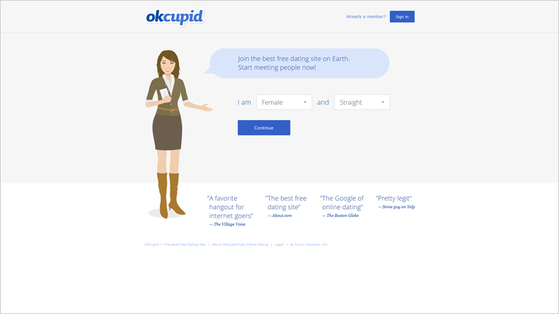 Okcupid dating websites usa