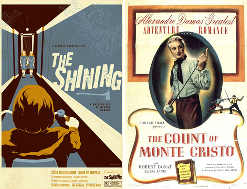 The Shining/The Count of Monte Cristo