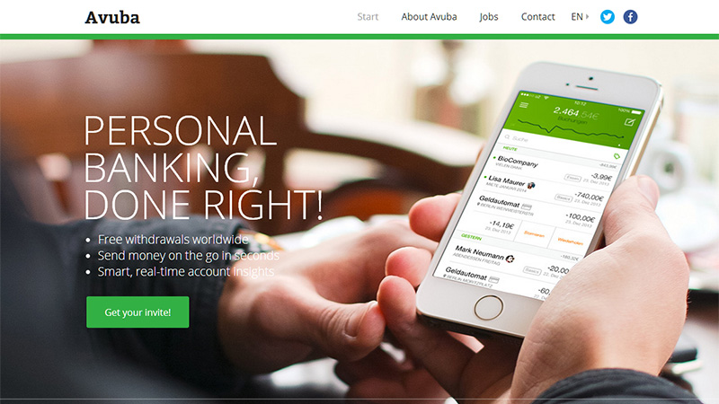 Great Website Design Ideas did we leave any good designs out please share with us Their Website Design Uses A Green And White Color Scheme And Is Very Clean And Simple Reinforcing Their Claim That The App Is Simple To Use
