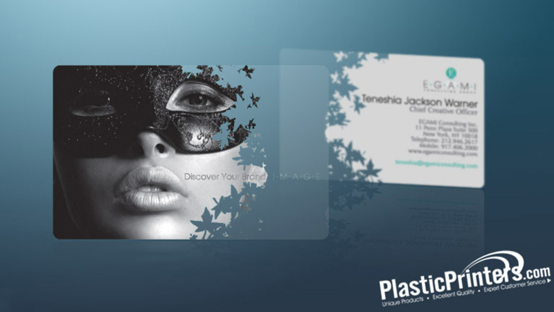 Business Cards Giveaway Win A Free Set Of Clear Plastic Business