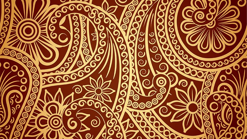 Fine Classical Pattern Background