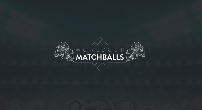 World Cup Matchballs