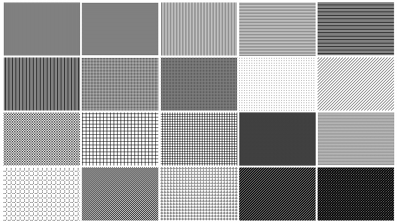 Freebie Free Pixel Patterns For Transparencies In Photoshop Beauteous Pixel Patterns