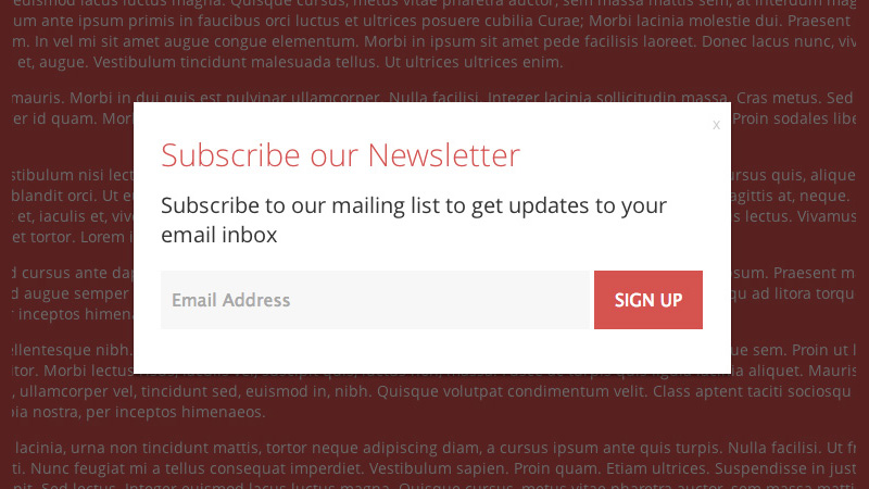 Create a Better, Highly Customizable Subscription Modal/Newsletter Signup Window with jQuery.Subscribe-Better.js