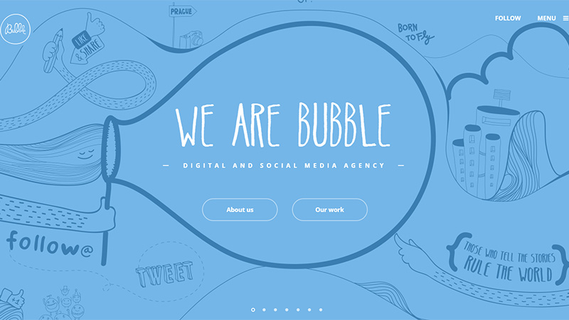 Where Agencies Speak: Creative and Emotive Designs of Web Agencies